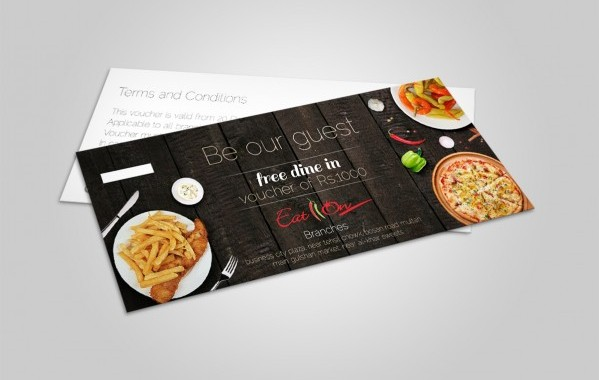 Eat On Restaurant Voucher 1