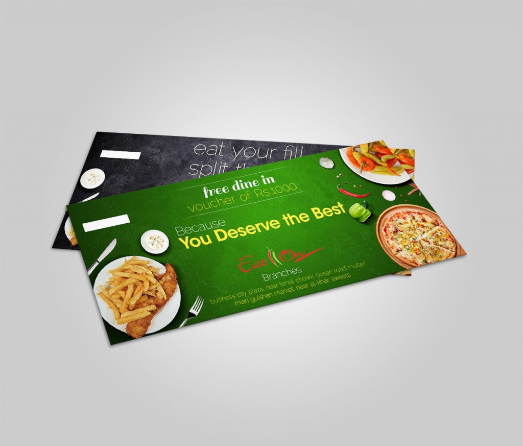 Eat On Restaurant Vouchers