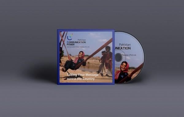 Communication Power CD and Jacket Front